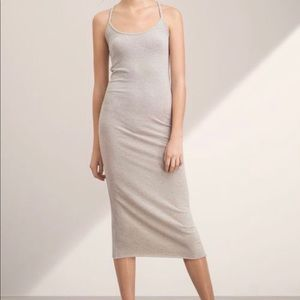 Aritzia Racerback Midi Dress